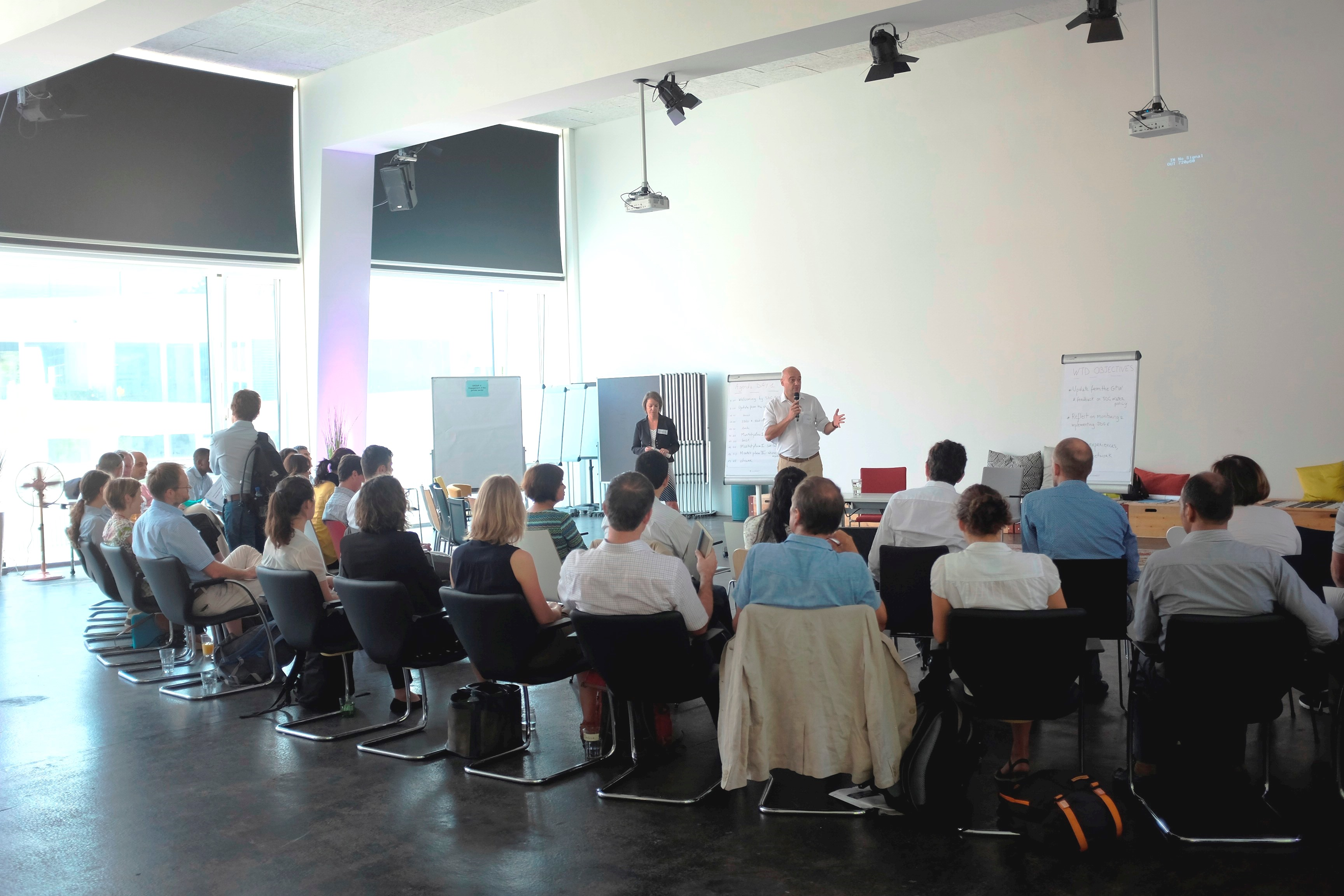 Opening of the Water Team Days in Bern